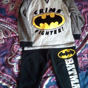 2 piece Batman Outfit